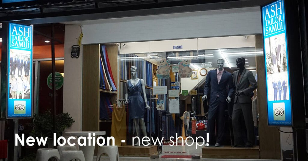New location - new shop