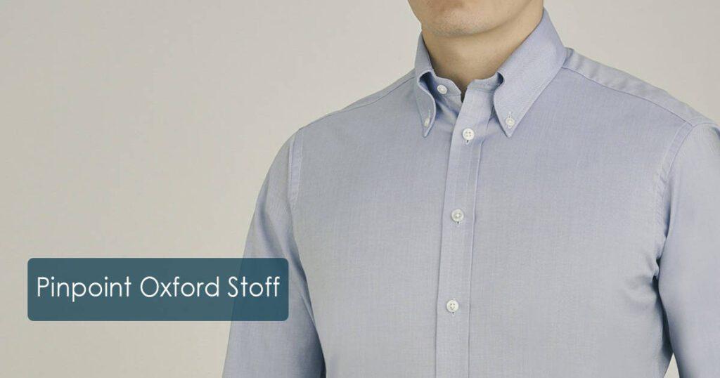 Pinpoint Oxford-Baumwollstoff