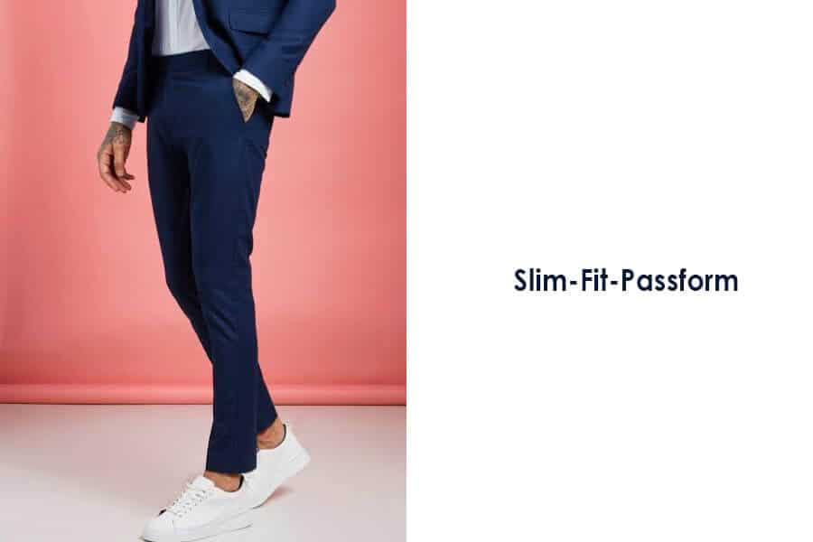 Slim-Fit-Passform oder normale Passform