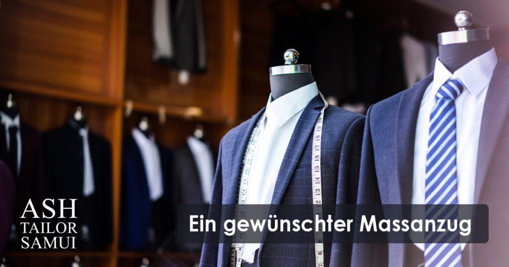 Ein massgeschneiderter Anzug