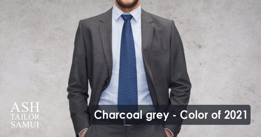 Charcoal grey - the color of 2021